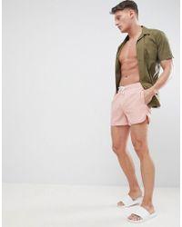 Blend - Pink Swim Shorts - Lyst