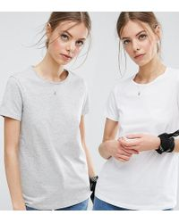 ASOS | The Ultimate Crew Neck T-shirt 2 Pack Save 15% | Lyst