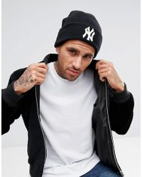 KTZ - Lounge Knit Beanie Ny Yankees - Lyst
