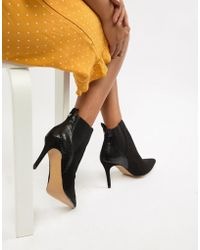 Dune - Ossana Pointed Heeled Boots - Lyst