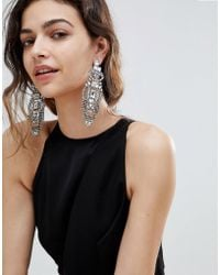 ALDO - Embellished Drop Earrings - Lyst