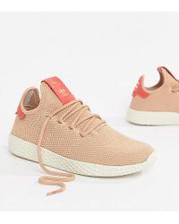 3140813f78b4d adidas Originals - Pharrell Williams Tennis Hu Sneakers In Pink - Lyst