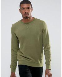 Casual Friday - Sweatshirt In Wash - Lyst