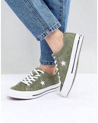 57d01c50b Lyst - adidas Originals Swift Run Sneakers In Khaki in Green