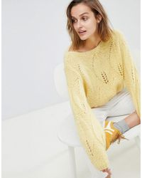 M.i.h Jeans - Lacey Knit Sweater - Lyst