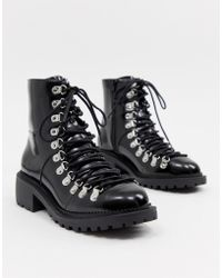 ASOS - Ablaze Chunky Hiker Boots - Lyst
