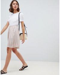 Ichi - Stripe Shorts - Lyst