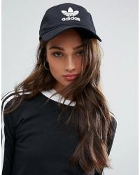 adidas Originals - Originals Logo Cap In Black - Lyst