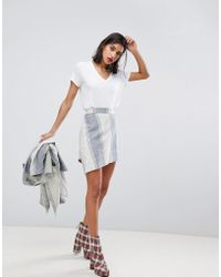 Vivienne Westwood Anglomania Infinity Skirt - Blue