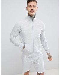 BOSS - Bodywear Zip-thru Jacket - Lyst