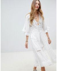 RahiCali - Dreamcatcher Kimono Dress - Lyst