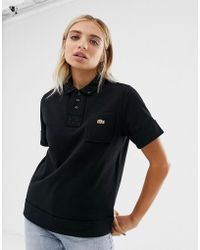 28b6e084 Lacoste - X Opening Ceremony Short Sleeve Pocket Detail Polo - Lyst