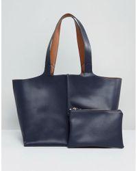 Warehouse - Reversible Shopper Bag - Lyst
