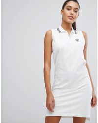 Polo Ralph Lauren - X Wimbledon Polo Dress With Tipping - Lyst