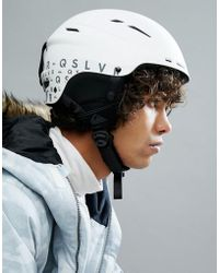 Quiksilver - Motion Ski Helmet In White - Lyst