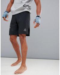 Reebok - Combat Boxing Shorts In Black D96002 - Lyst