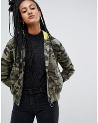 Volcom - Jacket In Camo - Lyst