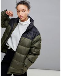 The North Face - Nuptse 2 Jacket In Green - Lyst