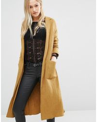 Pull&Bear - Coatigan Duster Coat - Lyst