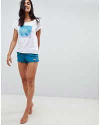Rip Curl - Rip Curl Eco Pacific Beach Short In Organic Cotton - Lyst