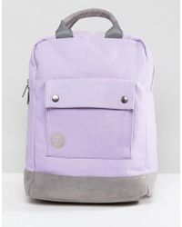 Mi-Pac - Tote Backpack In Lilac - Lyst