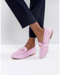 ASOS - Movement Leather Loafers - Lyst