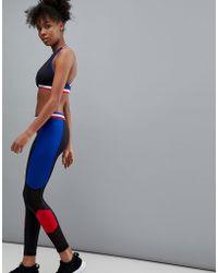 South Beach - Stripe Panel Legging - Lyst