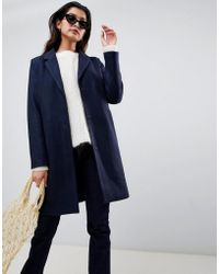 Vila - Tailored Coat - Lyst