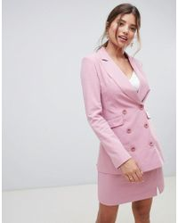 Millie Mackintosh - 90's Double Breasted Co-ord Blazer - Lyst