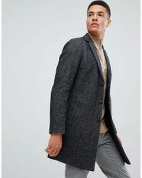 Jack & Jones - Premium Wool Overcoat - Lyst
