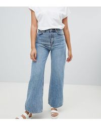 Weekday - Ace Wide Leg Jeans With Organic Cotton In Blue - Lyst