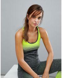 New Look - Neon Ombre Seam Free Vest - Lyst