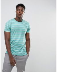 Minimum - Oxley Striped T-shirt - Lyst