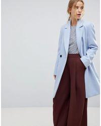 Miss Selfridge | Tailored Coat | Lyst