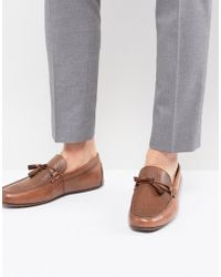 49b796ec3ae ALDO Umiasen Penny Loafers In Tan Leather in Brown for Men - Lyst