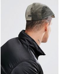 65b10e56eb4 Asos Asos Fisherman Beanie In Black And Green Boucle in Black for ...