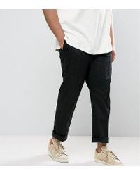 Polo Ralph Lauren - Big & Tall Chinos Stretch Twill In Black - Lyst