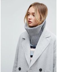 ASOS | Short Zip Up Snood | Lyst