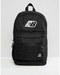 New Balance Lifestyle Backpack in Black for Men - Lyst 35515fff84c47