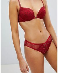 New Look - Lace Insert Knickers - Lyst