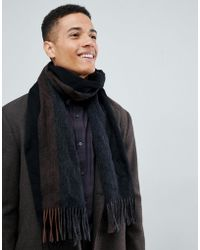 SELECTED - Wool Scarf - Lyst