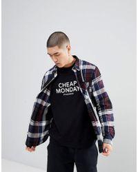 Cheap Monday - Checked Shirt - Lyst