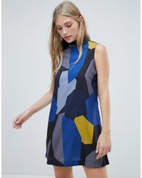 Native Youth - Graphic Shift Dress - Lyst