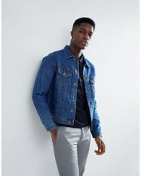 Jack & Jones - Intelligence Denim Jacket In Slim Fit - Lyst