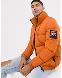 Good For Nothing - Puffer Jacket In Orange - Lyst