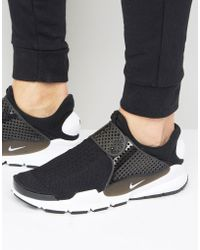 Nike - Sock Dart Trainers In Black 819686-005 - Lyst