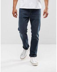 Levi's - 502 Regular Taper Stretch Fit Jeans Eyser Indigo - Lyst