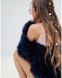 Missguided - Iridescent Sequin Hair Rings - Lyst