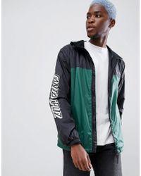 Santa Cruz - Team Jacket With Sleeve Print In Black - Lyst