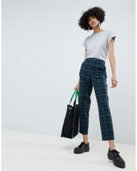 ASOS - Blackwatch Check Slim Trouser - Lyst